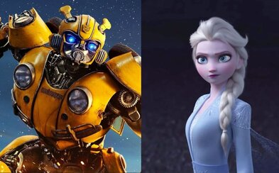 Bumblebee reštartoval celú sériu Transformers a animovaný trailer pre Frozen 2 je najsledovanejším vôbec