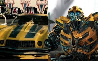 Bumblebee sa predstavuje na prvej fotke z natáčania svojej sólovky od tvorcov Transformers