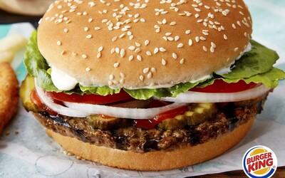 Burger King čoskoro prinesie vegetariánsky burger aj na Slovensko. Priprav sa na rastlinný Impossible Whopper