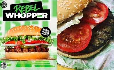 Burger King spustil predaj prvých rastlinných burgrov v Británii, nie sú však vhodné pre vegánov