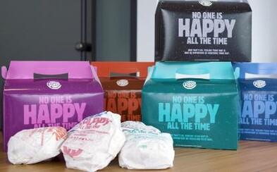 """Burger King začal predávať """"Unhappy Meal"""". Uťahuje si z McDonald's a upozorňuje na mentálne zdravie"""