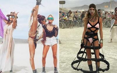 Burning Man je zaručeně nejbláznivějším festivalem na světě. Letošní fotografie to jen potvrzují