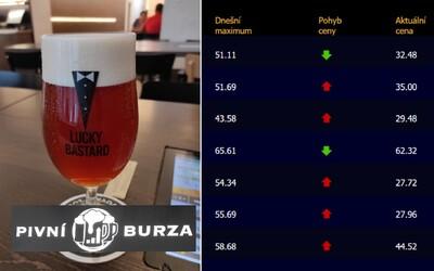 Byli jsme na pivní burze. Totéž pivo můžeš pít za 125 korun, ale i za 13 korun (Reportáž)