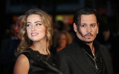 Bývalá manželka Johnnyho Deppa měla po herci házet pánve. Amber Heard z fyzického násilí usvědčila nahrávka