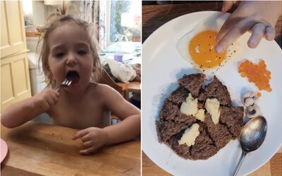Bývalej vegánke zachránilo mäso život. Jej 2-ročný syn má na raňajky, obed a večeru krvavý stejk alebo vnútornosti
