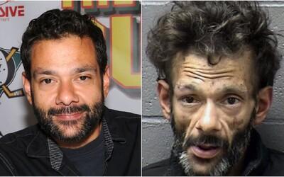 Bývalý americký herec se zdrogovaný vloupal do cizího domu. Pervitin ho změnil k nepoznání