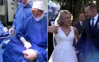 Bývalý priateľ ju pobodal, tak si vzala prvého muža, ktorého uvidela. Melisse museli pomôcť až záchranári