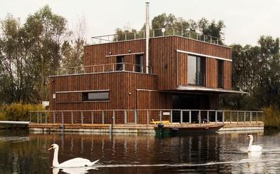 Bývanie priamo na hladine Dunaja určene pre tých, ktorých už omrzela betónová džungla