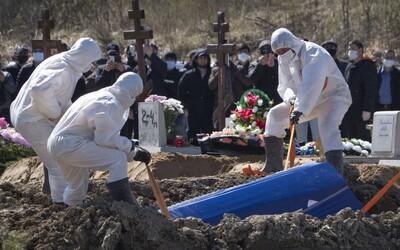 Na koronavírus už zomrelo oveľa viac ľudí, ako bežne zomrie ročne na chrípku