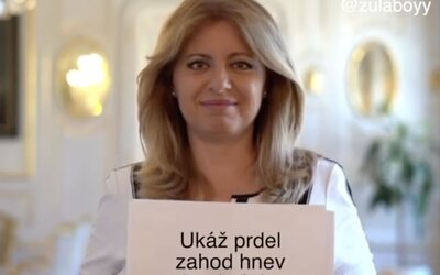 Slováci sa zabávajú na ďakovnom príspevku Zuzany Čaputovej. Papierové hárky odkrývajú Rytmusov text či Plačkovej súťaž.