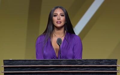 VIDEO: Vanessa Bryant hovorí v emocionálnom prejave o zosnulom Kobe Bryantovi na odovzdavaní cien v Basketbalovej sieni slávy