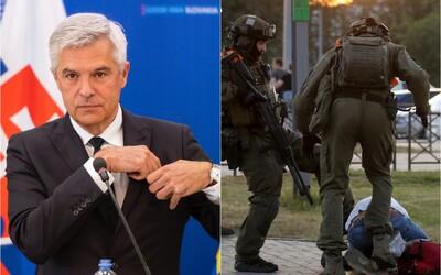Minister zahraničných vecí Korčok: To, čo sa deje v Bielorusku, je absolútne neakceptovateľné.
