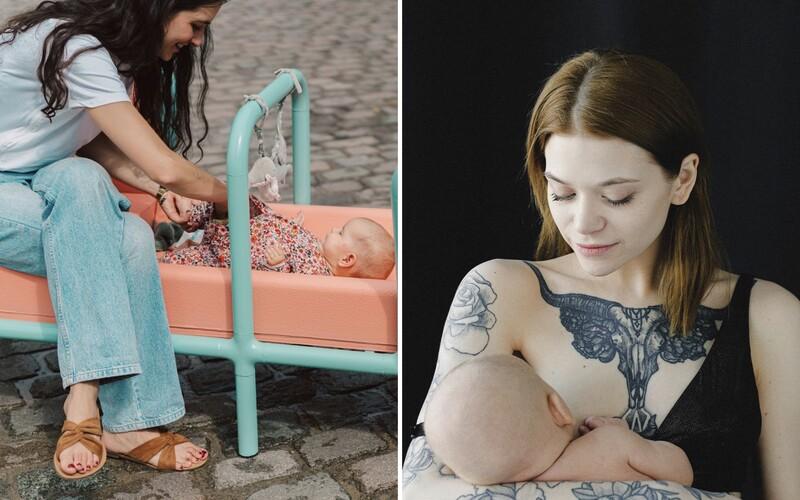 V Belgii vznikla speciální lavička na kojení. Má pomoci ženám, které se stydí kojit na veřejnosti.