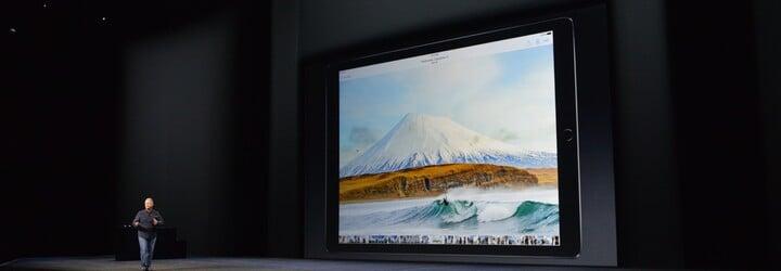 Apple představil nové tablety, debutoval i 13palcový iPad Pro