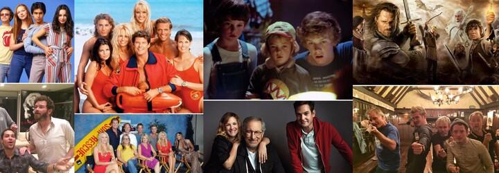 Nostalgické momenty, kdy se po letech setkají herci z Pána prstenů či Přátel. Nejlepší televizní setkání zahřejí fanoušky u srdce
