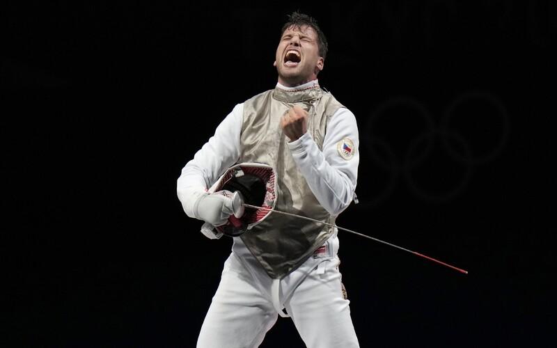 Další medaile pro Česko! Choupenitch vybojoval bronz v šermu.