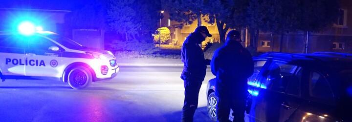 REPORTÁŽ: Ako v noci policajti kontrolujú zákaz vychádzania?