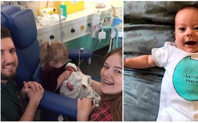 Čakali trojičky, no z nemocnice odišli iba s jedným bábätkom. Rodičia obetovali dve choré deti, aby zachránili život ich bratovi