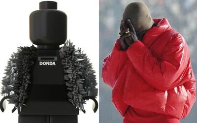 Čakanie na album DONDA si môžeš skrátiť hrou s figúrkou Kanyeho Westa inšpirovanou legom. Nechýba jej ani bunda s ostňami