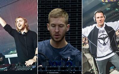 Calvin Harris opäť kraľuje rebríčku najlepšie zarábajúcich DJ-ov. Prenasledovateľov predbehol o takmer dvojnásobok