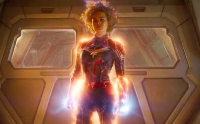 Captain Marvel bude pre Thanosa viac než rovným súperom! Akčná upútavka poukazuje na jej obrovskú moc