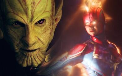 Captain Marvel prichádza do kín. Tešiť sa môžeš na množstvo vesmírnej akcie, rasu Kree a odhalenie mnohých tajomstiev MCU