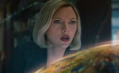 Captain Marvel sa v novej scéne stavia do čela Avengers a prichádza s plánom na porazenie Thanosa