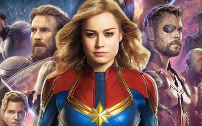 Captain Marvel vystrieda Iron Mana a Captaina Americu. Po Endgame povedie Avengerov aj MCU