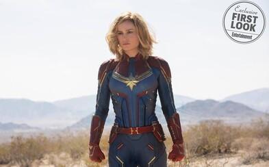Captain Marvel začne vo vesmíre a Carol bude mať schopnosti už od začiatku