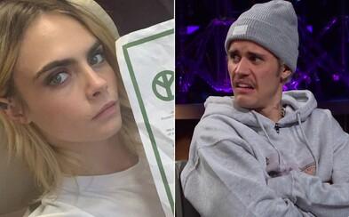 Cara Delevingne odpovedá na Justinove slová o tom, že ju ako kamarátku Hailey nemá rád: Mal si radšej zjesť býčí penis