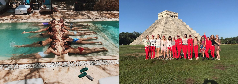 Cara Delevingne oslavila 25. narozeniny v Mexiku s hrstkou krásných kamarádek a spoustou zábavy