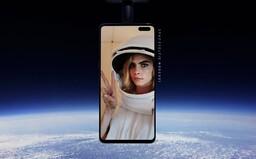 Cara Delevingne sa vydala so Samsungom do vesmíru a urobila si prvú SpaceSelfie