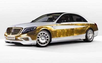 Carlsson CS Versailles: zlaté pláty a 700 koní za 400-tisíc €!