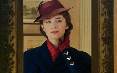 Čarovná pestúnka Mary Poppins sa vracia v podaní pôvabnej Emily Blunt v magickej rozprávke od Disney