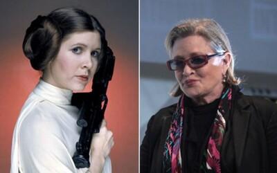 Carrie Fisher měla v době smrti ve svém těle kokain, heroin i extázi. Princezna Leia ze Star Wars jimi prý léčila psychické problémy