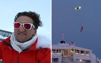 Casey Neistat sa nezastaví pred ničím. Nechal si zostrojiť dron, ktorý mu umožnil zalietať si nad lyžiarskym strediskom