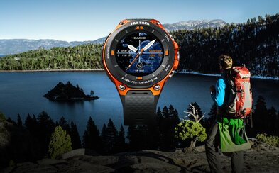 Casio ukázalo odolné smartwatch s GPS anténou, offline mapami a moderným systémom Android Wear 2.0