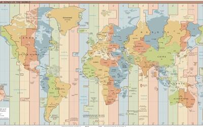 Časová pásma po celé zeměkouli ukrývají nejeden paradox