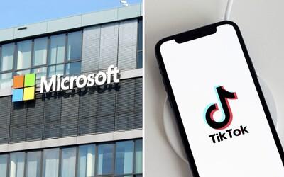 Část TikToku možná od Číňanů odkoupí Microsoft. Obchod desetiletí by vyhovoval i Donaldu Trumpovi
