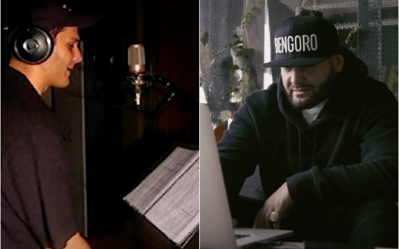 Takto Rytmus a Ego nahrávali track E.R.A. Sleduj exkluzívne nikdy nezverejnené zábery z roku 2004.
