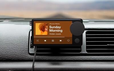 Toto je první zařízení od Spotify. Car Thing učiní streamování hudby pohodlnějším i 15 let starém VW Golfu.