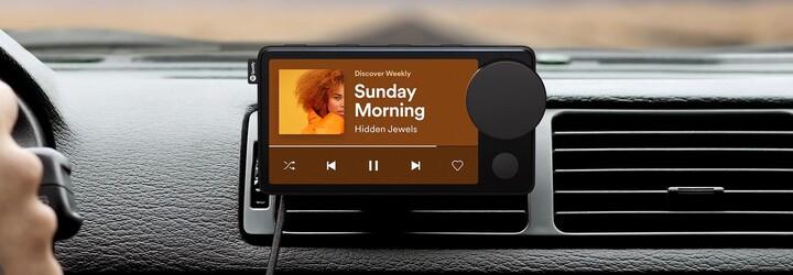 Toto je první zařízení od Spotify. Car Thing učiní streamování hudby pohodlnějším i 15 let starém VW Golfu