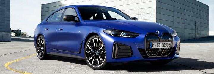Prvé elektrické BMW M je na svete, má 544 koní a obrovský panel s displejmi