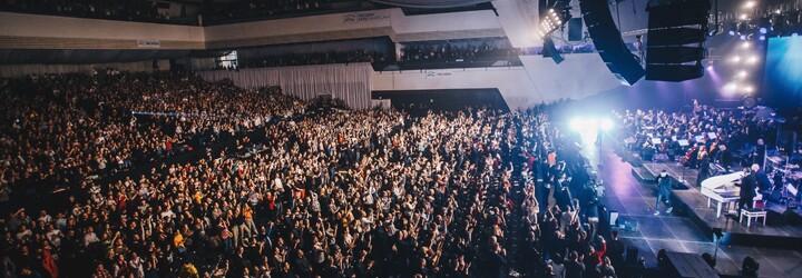 Rytmus prepisoval históriu slovenského rapu. Pred 7 500 fanúšikmi všetkých generácií ukázal súhru so 65-členným symfonickým orchestrom