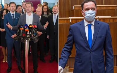 Vykopnutý poslanec Čepček naznačuje žalobu na OĽaNO za spôsob, akým sa ho zbavili.