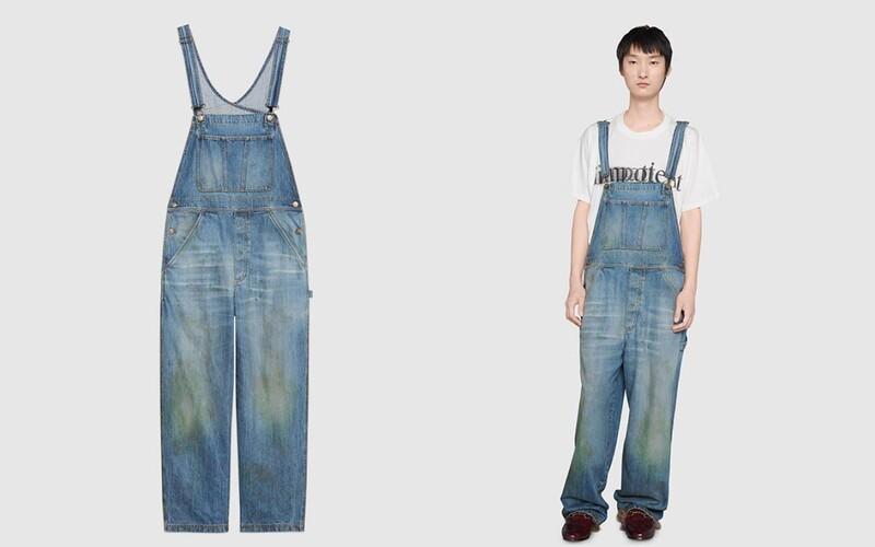 Gucci začalo prodávat džíny se skvrnami od trávy za více než 26 tisíc korun.