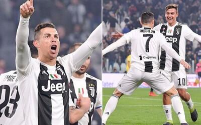 Cristiano Ronaldo rozbombardoval Atlético Madrid a vyradil ho z Ligy majstrov