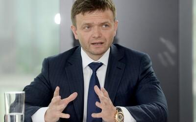 Jaroslava Haščáka po prohlídce v Pentě zadrželi, noc strávil na policii.