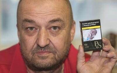 Čech našel svoji fotku jako výstrahu na krabičkách od cigaret. Udělali z něj umírajícího muže na lůžku