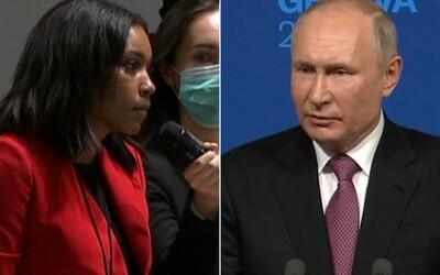 Čeho se bojíte, pane prezidente? Americká novinářka se Putina přímo zeptala na řadu politických vězňů a mrtvých oponentů